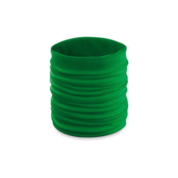 """Шарф """"Happy Tube"""", универсальный размер, зелёный"""