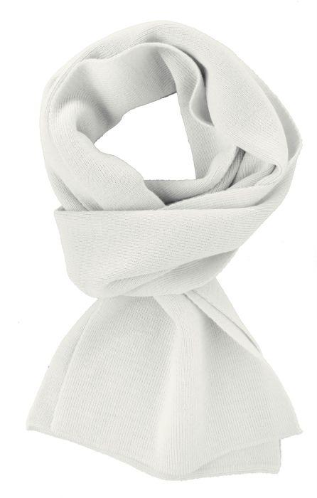 Шарф Easy, 140x20 см, молочно-белый