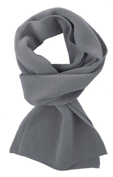 Шарф Easy, 140x20 см, серый