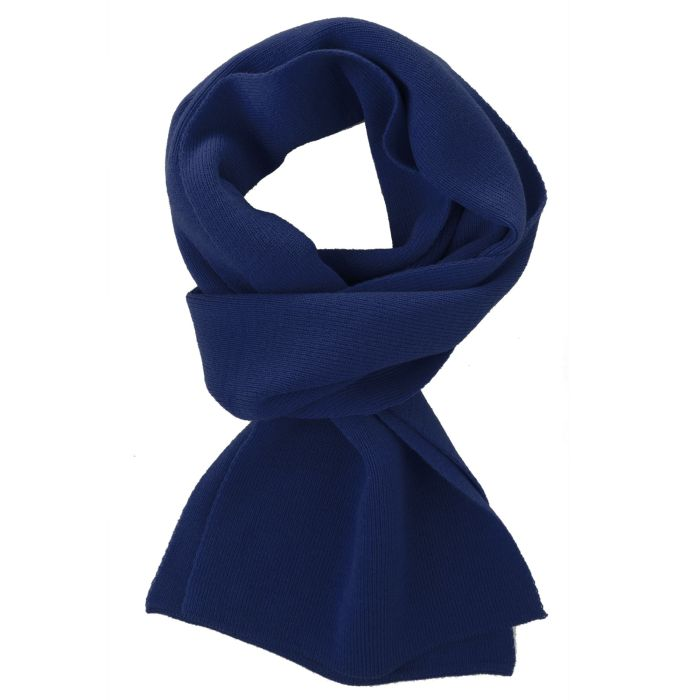 Шарф Easy, 140x20 см, тёмно-синий