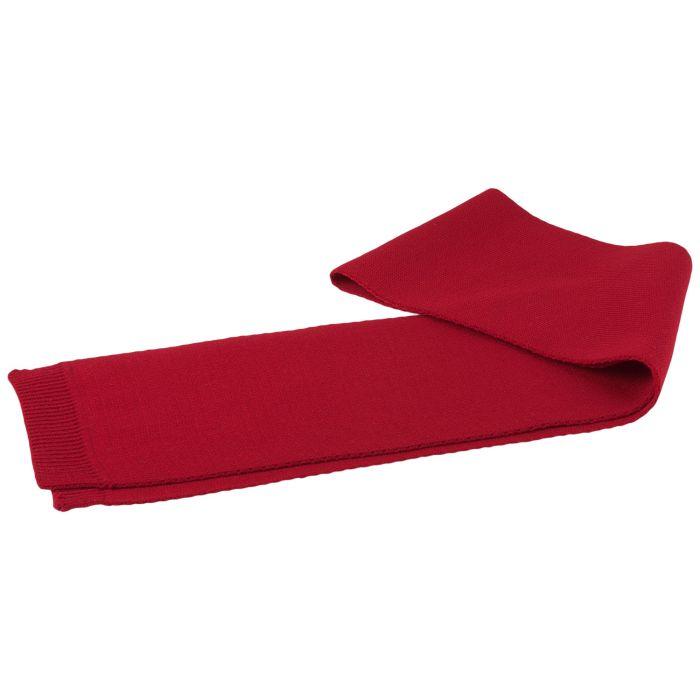 Шарф Siver, 16х130 см, красный