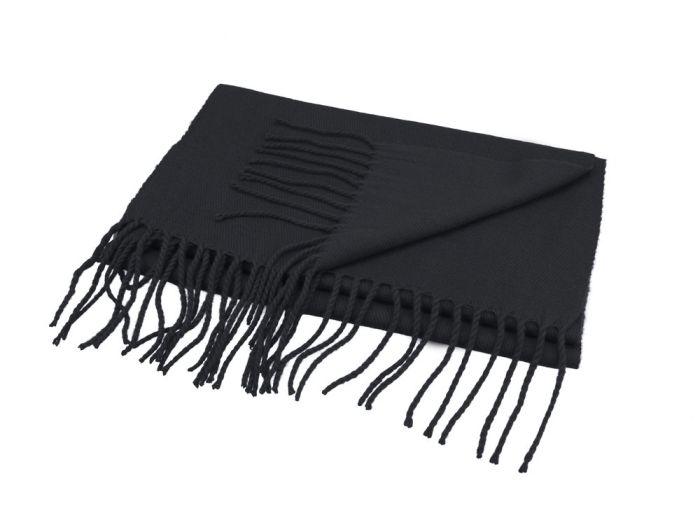 """Шарф """"Chaud"""", 30х185 см, чёрный"""