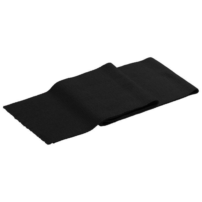 Шарф Stout, 23х200 см, чёрный