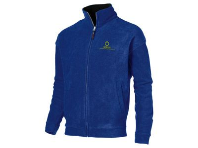 """Куртка флисовая """"Nashville"""" мужская на молнии, цвет классический синий/чёрный, размер L"""