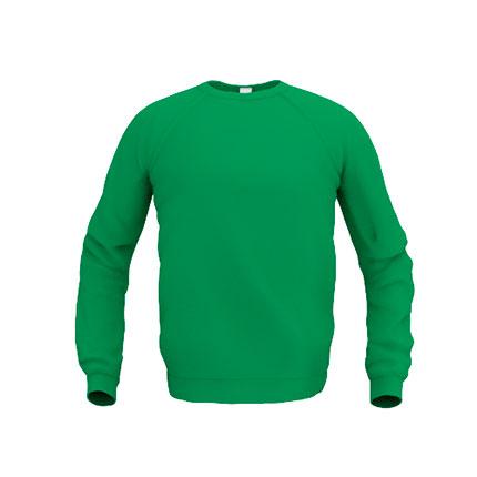 Толстовка мужская 53 Sweatshirt, цвет зелёный, размер M