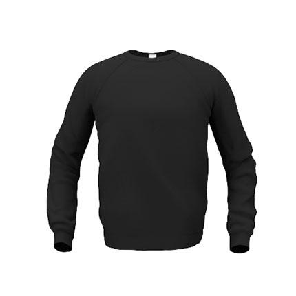 Толстовка мужская 53 Sweatshirt, цвет чёрный, размер S