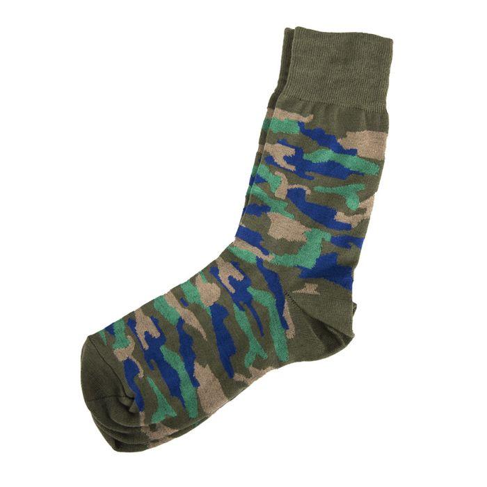 """Подарочный набор """"Камуфляж"""": тематические носки и упаковка"""