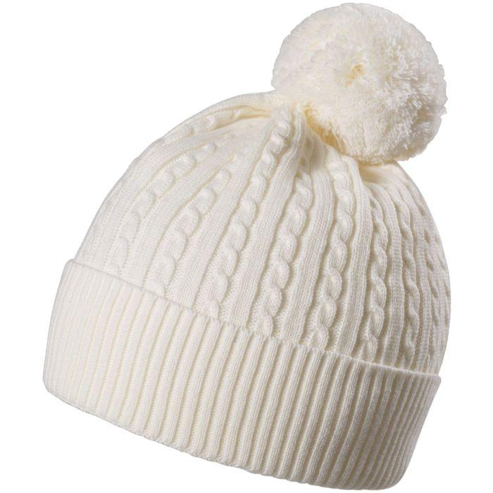Шапка Comfort Up, молочно-белая