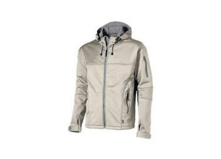 """Куртка """"Soft shell"""" мужская, цвет серый/чёрный, размер L"""