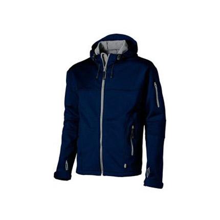 "Куртка ""Soft shell"" мужская, цвет тёмно-синий/серый, размер 2XL"