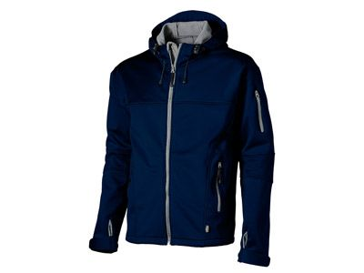 "Куртка ""Soft shell"" мужская, цвет тёмно-синий/серый, размер L"