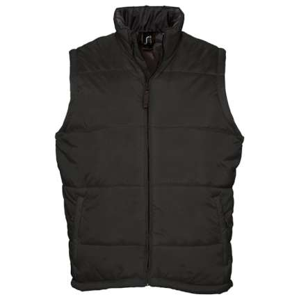 """Жилет мужской """"Warm"""", чёрный, размер XL"""