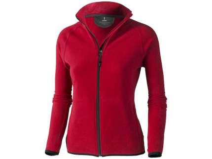 """Куртка флисовая """"Brossard"""" женская, цвет красный/чёрный, размер M"""
