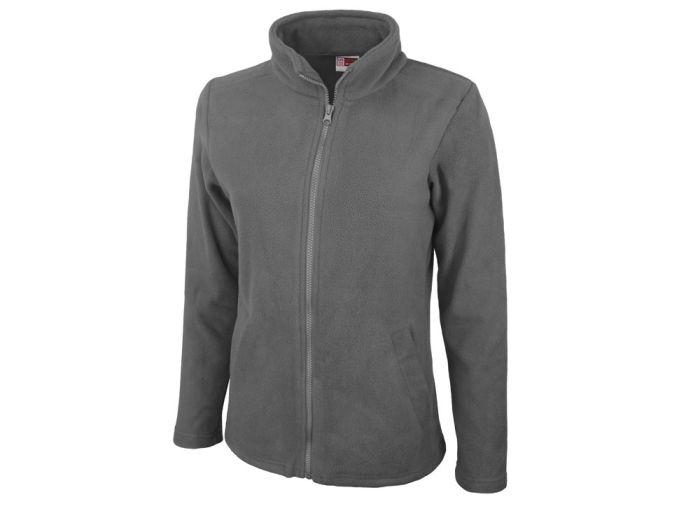"Куртка флисовая ""Seattle"" женская, цвет серый, размер L"