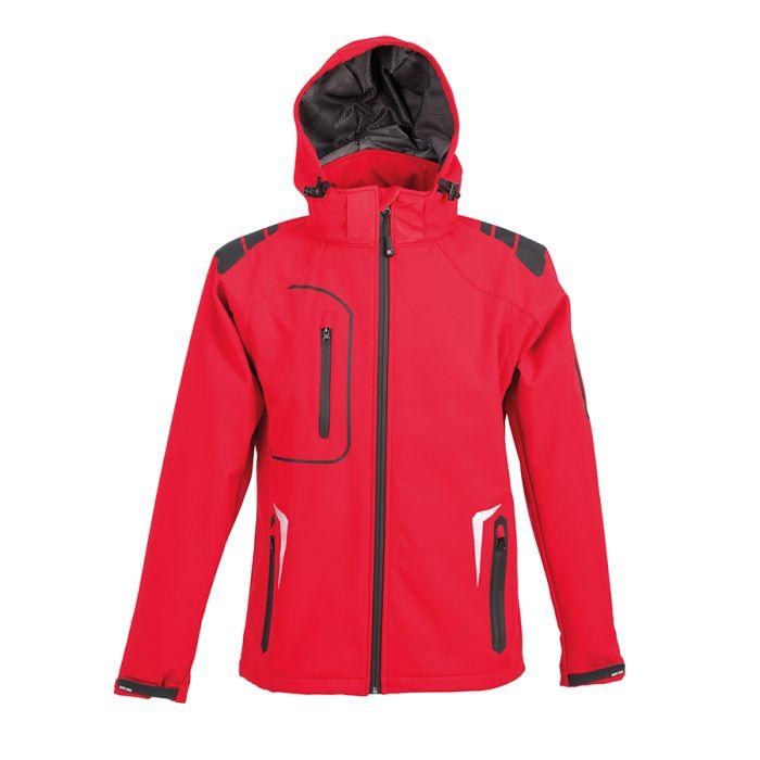 Куртка софтшелл ARTIC 320, цвет красный, размер M