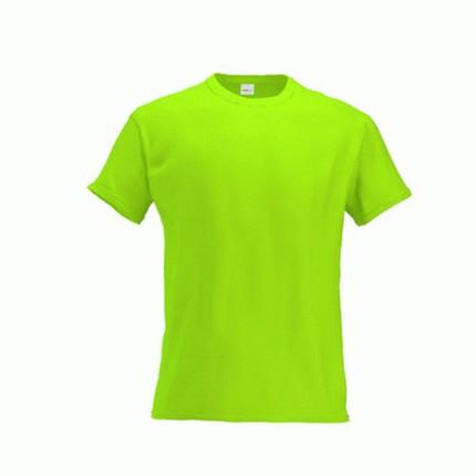 Футболка детская 06 Kids, цвет ярко-зелёный, размер 8 лет