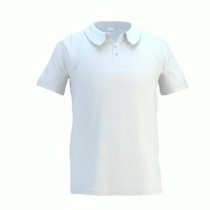 Рубашка поло мужская 04 Premier, цвет белый, размер L