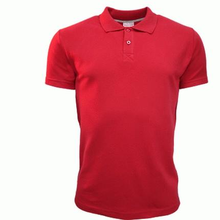 Рубашка поло мужская 04U Uniform, цвет красный, размер M