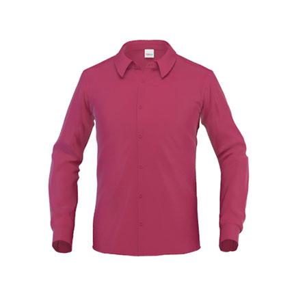 Рубашка мужская 45 Business, цвет бордовый, размер L
