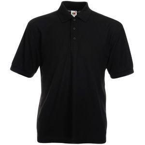 "Поло мужское ""65/35 Polo"", цвет чёрный, размер M"