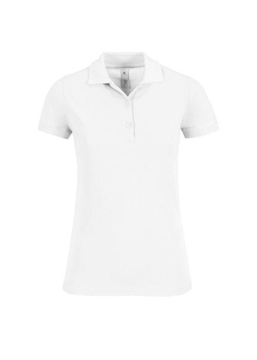 Рубашка поло женская Safran Timeless, цвет белый, размер S