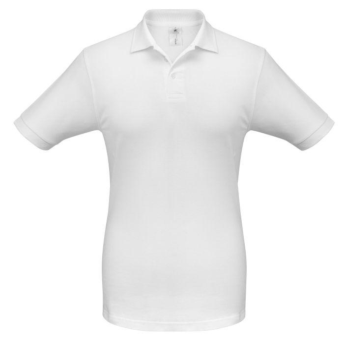 Рубашка поло Safran, цвет белый, размер L