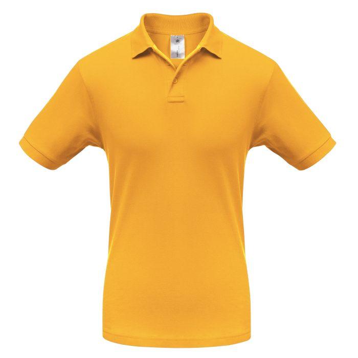 Рубашка поло Safran, цвет жёлтый, размер XL