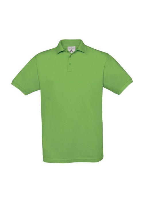 Рубашка поло Safran, цвет зелёное яблоко, размер L