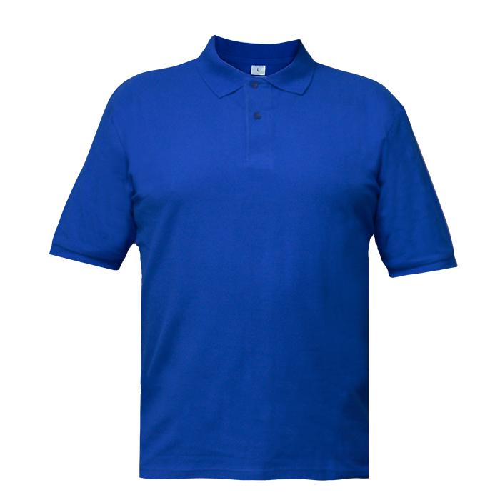 Рубашка поло мужская Short, цвет синий, размер M