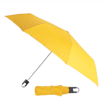 """Зонт складной """"Twist"""", механический. Желтый 123. Чехол в комплекте"""