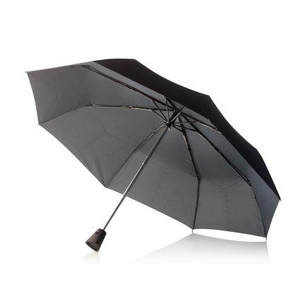 """Складной зонт-автомат Brolly  21,5"""", черный"""