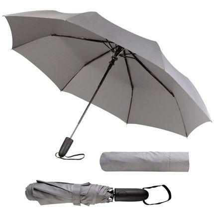Зонт складной Magic с проявляющимся рисунком, тёмно-синий