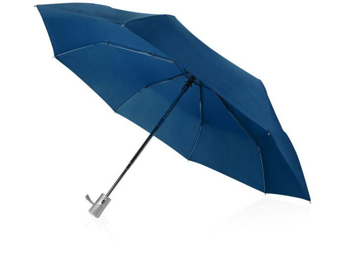 """Зонт складной """"Леньяно"""", цвет синий"""