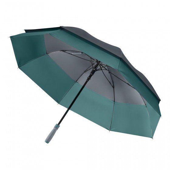 Зонт-трость Portobello Bora, цвет серый/аква