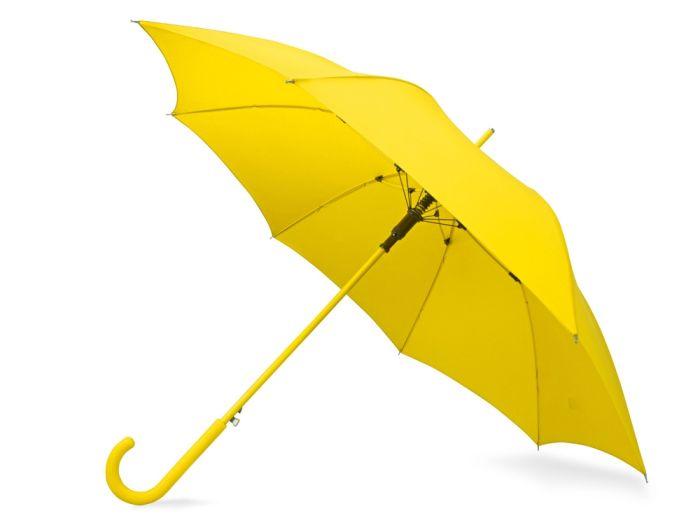 """Зонт-трость """"Color"""", цвет жёлтый"""
