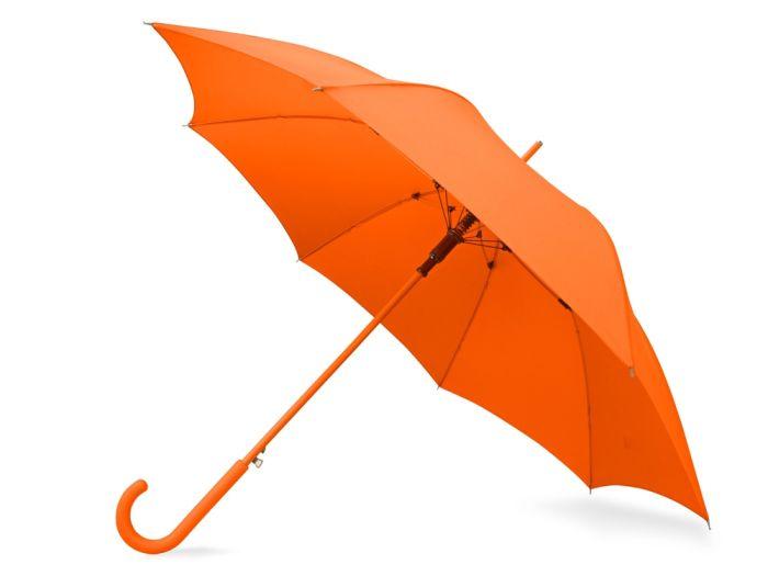 """Зонт-трость """"Color"""", цвет оранжевый"""