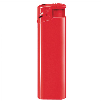 "Зажигалка пьезо многоразовая (12003) ""Flameclub"" P-01 HC Red"