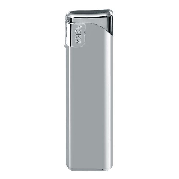 "Зажигалка пьезо многоразовая 50500 ""Wisen"" WP-50 Slider Silver Metallic"