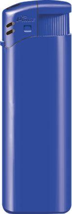 Пьезозажигалка многоразовая серия Color/Color Cap Е-100, синяя
