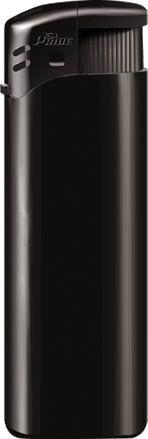 Пьезозажигалка многоразовая серия Color/Color Cap Е-100, чёрная