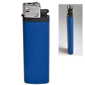 Зажигалка кремневая ISKRA, синяя
