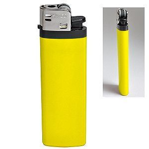 Зажигалка кремневая ISKRA, жёлтая