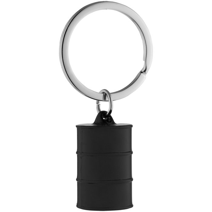 Брелок Barrel, цвет чёрный
