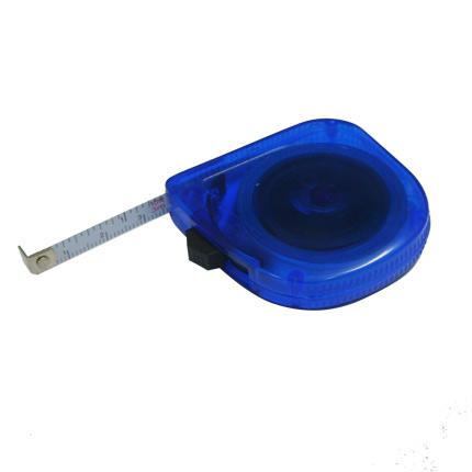 Рулетка, длина 3 м, цвет синий