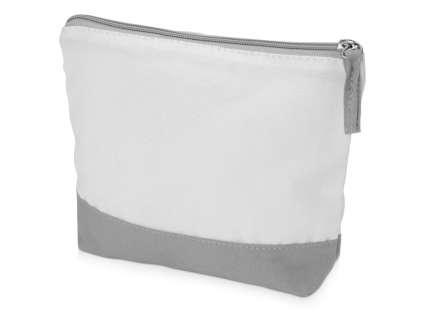 Косметичка хлопковая Cotton, цвет серый/белый