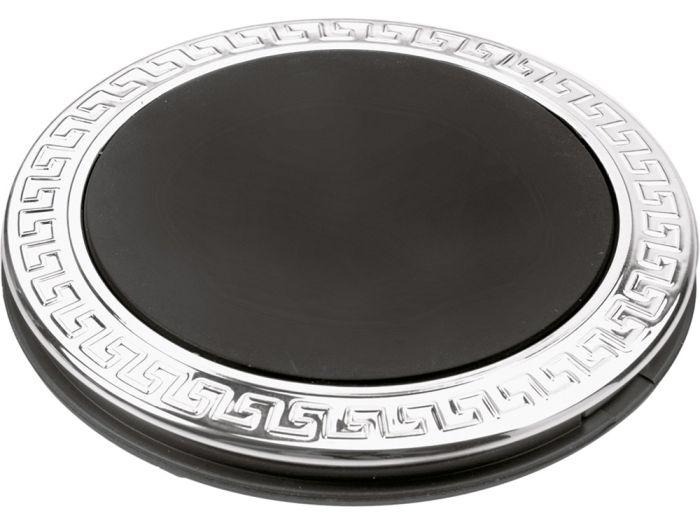 """Складное зеркало """"Отражение"""", цвет серебристый с чёрным"""