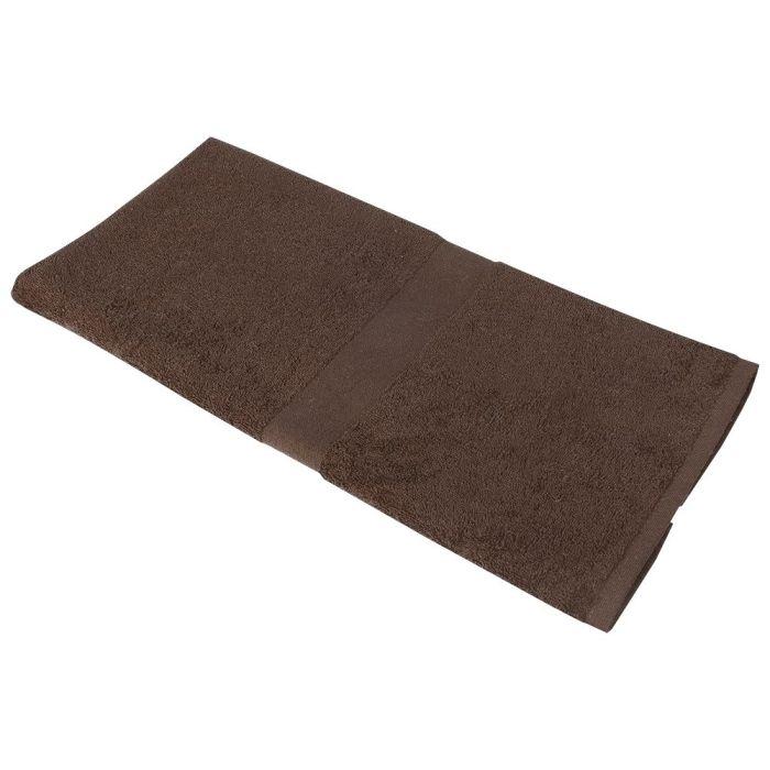 Полотенце махровое Medium, 100х50 см, коричневое