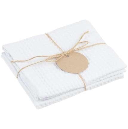 Набор кухонных полотенец Good Wipe, цвет белый с белым