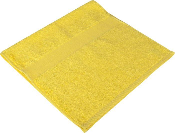 Полотенце махровое Small, 35х70 см, жёлтое