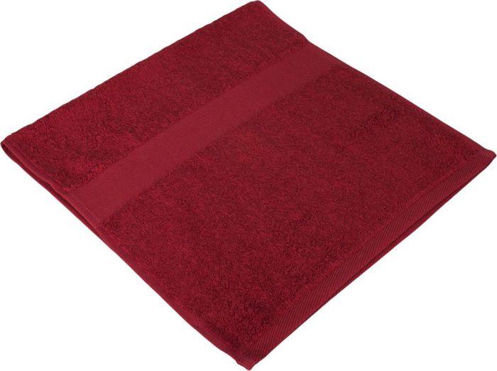 Полотенце махровое Small, 35х70 см, бордовое